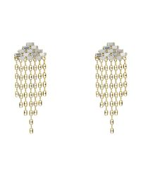 DANNIJO | Metallic Gianna Earrings | Lyst