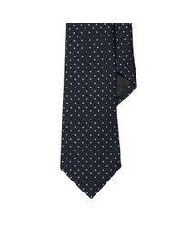 Ralph Lauren Black Label - Blue Polka-dot Wool-silk Narrow Tie for Men - Lyst