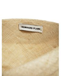 Reinhard Plank - Natural New Season - Womens Turbino Straw Hat - Lyst