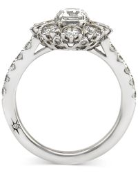 Marchesa - Star By Certified Diamond Engagement Ring In 18k White Gold (1-5/8 Ct. T.w.) - Lyst
