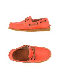 Golden Goose Deluxe Brand | Red Moccasins for Men | Lyst