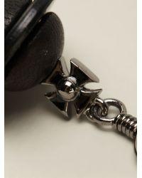 Vivienne Westwood - Black 'Lakshmi Orb' Earrings - Lyst