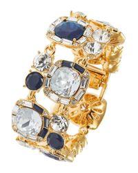 kate spade new york - Blue Jeweled Bracelet - Lyst
