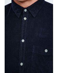 Dr. Denim - Blue Allan Field Cord Shirt in Navy for Men - Lyst