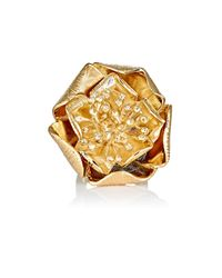 Aurelie Bidermann - Orange Women's Paloma Ring - Lyst