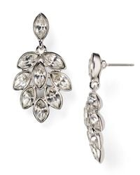 Carolee - Metallic Navette Chandelier Earrings - Lyst