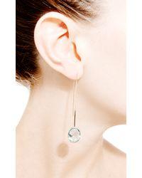 Janis Savitt - Thread Blue Topaz Earrings - Lyst