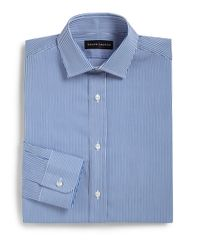 Ralph Lauren Black Label | Blue Classic-fit Bengal Stripe Dress Shirt for Men | Lyst