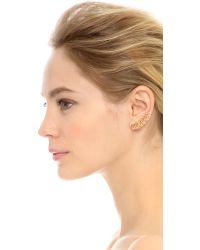 Noir Jewelry - Metallic Maris Earrings - Lyst