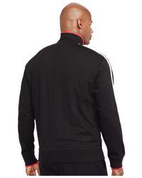 Polo Ralph Lauren | Black Big And Tall Full-zip Interlock Track Jacket for Men | Lyst