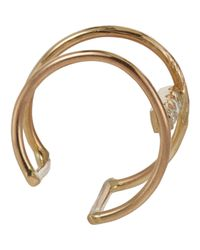Loren Stewart | Metallic Women's Two-bar Ear Cuff | Lyst