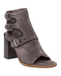 Rag & Bone - Gray Marta Suede Ankle Boots - Lyst