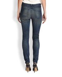 3x1 - Blue High-Rise Skinny Jeans - Lyst