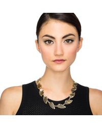 Lulu Frost - Metallic Horizon Midi Necklace - Lyst