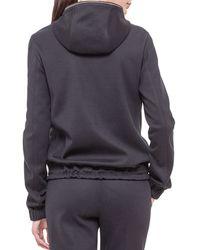 Akris - Black Cashmere-blend Reversible Hooded Jacket - Lyst