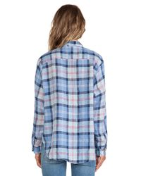 CP Shades - Blue Tennessee Plaid Shirt - Lyst