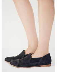 Free People - Black Womens Sunstone Loafer - Lyst