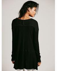 Free People - Black We The Free Sunset Park Thermal - Lyst