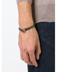 Tod's   Green 'my Colours' Bracelet for Men   Lyst