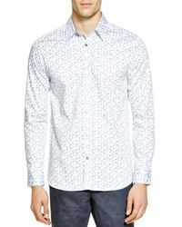 Ted Baker | White Koalaa Floral Print Regular Fit Button Down Shirt - Bloomingdale's Exclusive for Men | Lyst