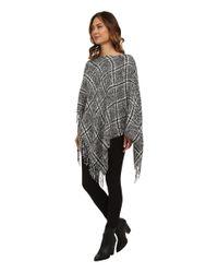 Lauren by Ralph Lauren | Gray Boucle Menswear Poncho | Lyst