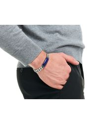 John Hardy - Blue Classic Chain Large Link Bracelet for Men - Lyst