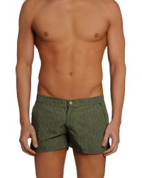 Replay - Green Swimming Trunk for Men - Lyst