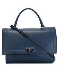 Givenchy | Blue Medium 'shark' Tote | Lyst