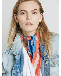 Free People | Red Grant Americana Bandana | Lyst