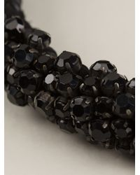 Isabel Marant | Black Crystal Necklace | Lyst