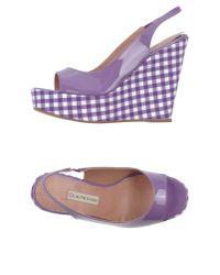 L'Autre Chose | Purple Sandals | Lyst