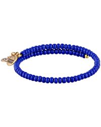 ALEX AND ANI | Blue Seahorse Wrap Bracelet | Lyst