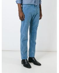 Jacob Cohen | Blue Vintage Effect Denim Jeans for Men | Lyst