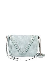 She + Lo - Green 'Make Your Mark' Leather Crossbody Bag - Lyst