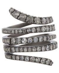 Roberto Marroni - Gray Snake Ring - Lyst