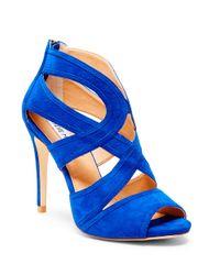 Steve Madden | Blue Immence Suede Stilettos | Lyst