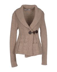 Relive | Natural Cardigan | Lyst