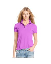 Polo Ralph Lauren | Purple Classic-fit Polo Shirt | Lyst