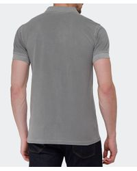 BOSS Orange | Gray Slim Fit Pascha Polo Shirt for Men | Lyst