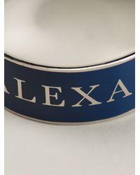Alexander McQueen | Blue Enamel Bracelet | Lyst