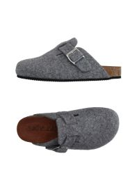 Sixtyseven - Gray Slippers - Lyst