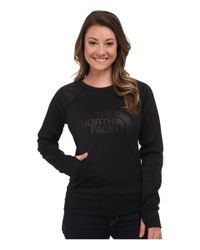 The North Face - Black Suprema Crew Pullover - Lyst