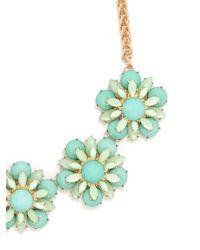 BaubleBar - Multicolor Twiggy Floral Collar - Lyst