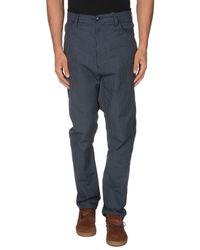 John Galliano | Blue Casual Trouser for Men | Lyst