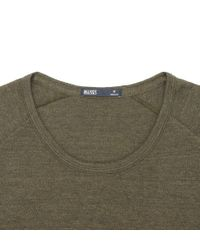 Onassis Clothing | Green Ls Jacquard Crew Neck for Men | Lyst