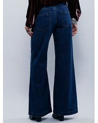 Free People - Blue Avendale Flare - Lyst