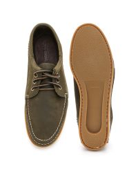 Quoddy - Green Horween Blucher Shoes for Men - Lyst