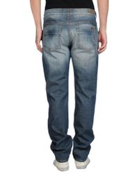 Notify - Blue Denim Trousers for Men - Lyst