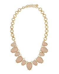 R.j. Graziano - Metallic Oversized Collar Necklace - Lyst
