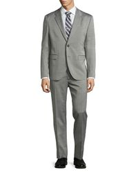 Just Cavalli | Black Two-button Merino Wool Suit for Men | Lyst